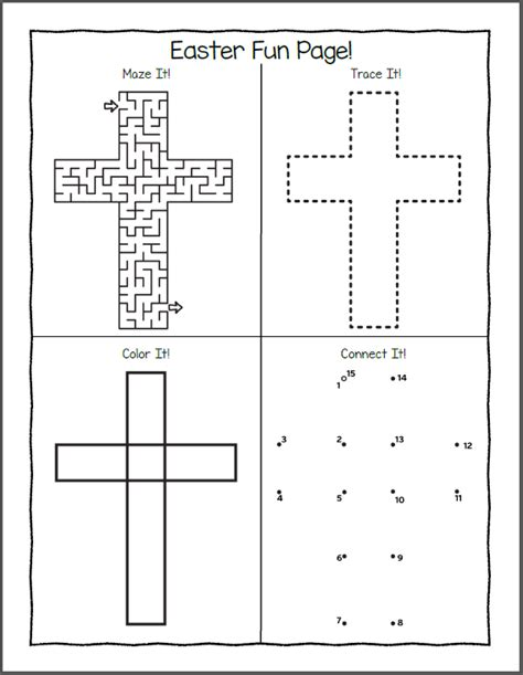 easter puzzles  coloring pages  kids