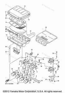 Yamaha Snowmobile 2003 Oem Parts Diagram For Intake