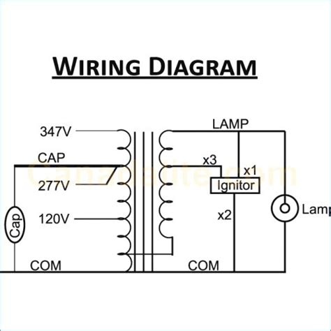 high pressure sodium ballast wiring diagram collection wiring collection