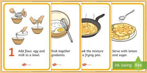 pancake recipe cards pancake day recipe pancake