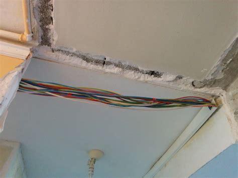 cacher les fils 233 lectrique dans le plafond et mur 16 messages