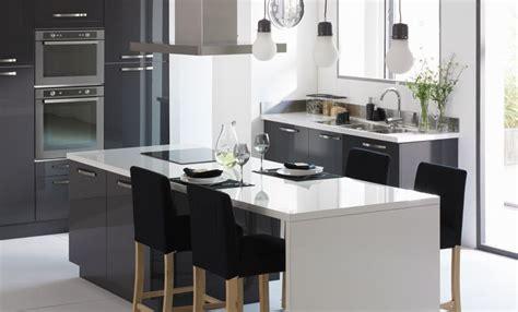idee decoration cuisine la cuisine rimini grise la cuisine idées déco alinéa