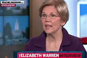 """I'm ready"": Elizabeth Warren explains to Rachel Maddow ..."