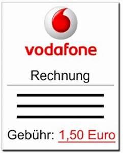 Vodafone Rechnung : papierrechnung kostet bei vodafone ab februar generell 1 50 euro news ~ Themetempest.com Abrechnung