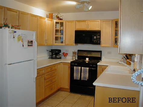 kitchen ideas on a budget before and after before after how maribeth created kitchen on Small
