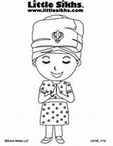 Sikh Colouring Coloring Pages Sheets Gurbaani Tv Gurbani Bodh Sikhs Website Customizable Started Templates Unique Own Create Kaur sketch template