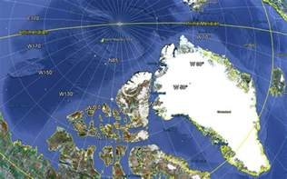 North Magnetic Pole Location