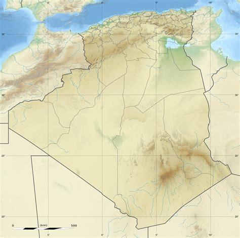 Carte Geographique Villes Algerie by Carte G 233 Ographique Alg 233 Rie Carte Alg 233 Rie