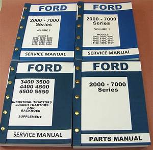 Ford 3400 3500 4400 4500 Industrial Tractor Service Repair