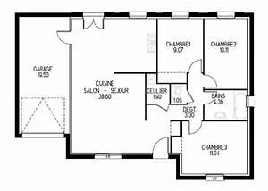 Plan De Construction : construire sa maison discount avec un constructeur bas prix ~ Premium-room.com Idées de Décoration