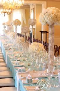 table decorations for wedding glamorous reception table decor