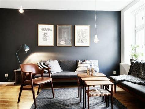 Wohnzimmer Graue Wandfarben Ideen Modern Wohnen