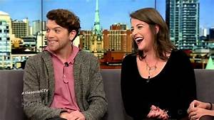 Michael Seater on The Social (Dec. 18th, 2014) - YouTube