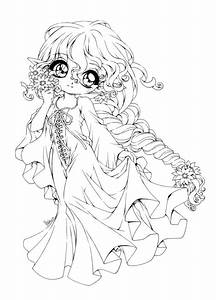 Cute Anime Chibi Coloring Pages Cartoon Download - Cartoon ...