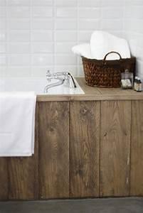Habillage Baignoire Bois : 17 meilleures id es propos de planche de coffrage sur ~ Premium-room.com Idées de Décoration