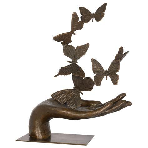 deco bronze figures deco deco bronze figure butterflies butterflies sculpture 34 cm 13 38 inches