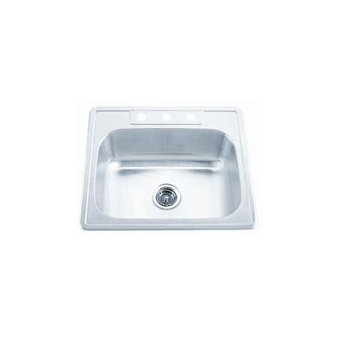 proflo kitchen sinks proflo pfsr2522654 stainless steel 25 quot single basin 1672