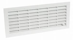 Grille Aeration Nicoll : grille de ventilation visser ou coller classique ~ Premium-room.com Idées de Décoration