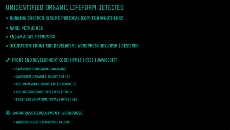 14 html resume templates
