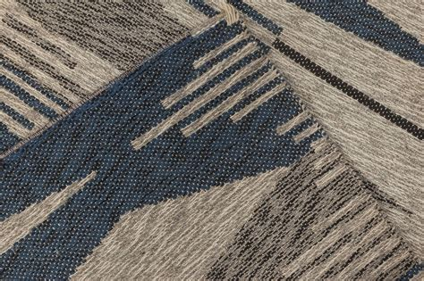 Vintage Swedish Flat Weave Double Sided Rug Bb6510 By