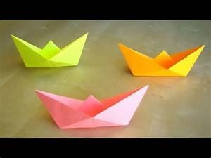 Coole Sachen Basteln : papierschiff falten basteln mit kindern leichtes origami boot basteln ideen youtube ~ Markanthonyermac.com Haus und Dekorationen