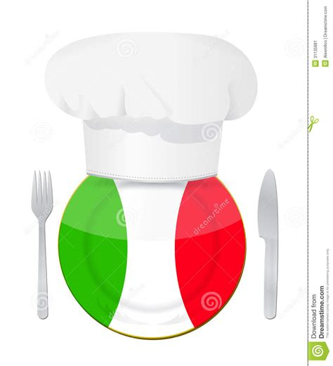 concept cuisine cuisine concept illustration design stock image