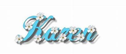 Glitter Karen Graphics Names Flowers Copy