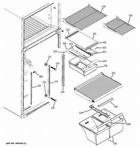 Fresh Food Shelves Diagram  U0026 Parts List For Model