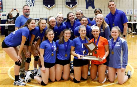 exeter township high school girls varsity volleyball fall