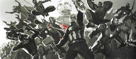 AVENGERS: ENDGAME Final Battle Concept Art Reveals Hulk Vs ...