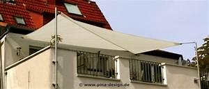sonnensegel dachterrasse exklusiver sonnenschutz pina With französischer balkon mit sonnenschirm dachterrasse wind