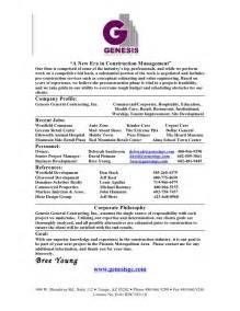resume for it company company resume