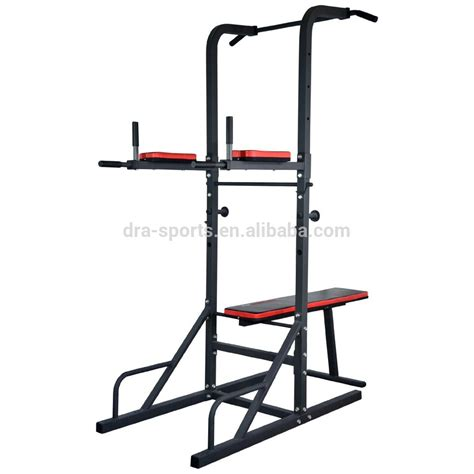 Pull Up Bar Punching Bag Stand by 2015 New Design Dip Station Multi Gym Pull Up Power Tower