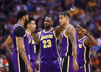 Lakers Lebron Angeles James Nba Kuzma Win
