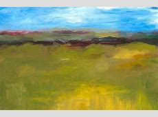Abstract Landscape The Highway Series Painting by