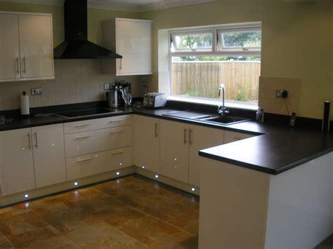 kitchen fitting cabinet gloss white kitchen black sink