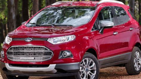 ford ecosport  chega  novo motor   parte de