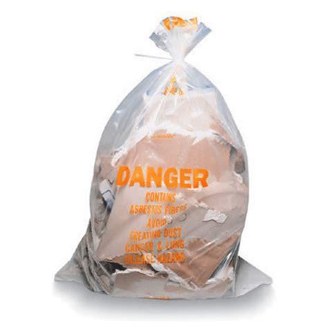 asbestos glove bags avail  quick twist vertical