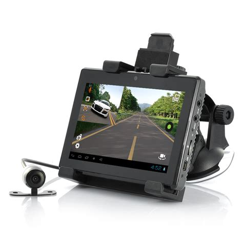 android gps hd android 5 in 1 three cameras dvr with gps