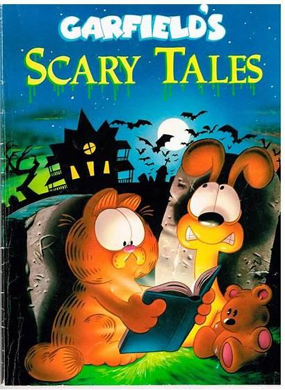 Garfield Scary Tales Reading Corner Retro Cat