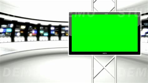 tv green screen template white news studio 9 green screen background youtube