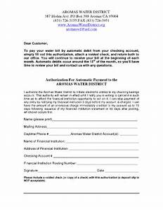 Automatic Payment Authorization Form Template 20 Printable Appointment Letter Doc Forms And Templates