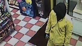 Gas station clerk sset on fire, killed