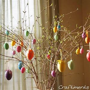 Craftiments, Easter, Egg, Tree