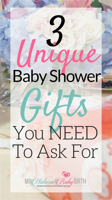 Unique Baby Shower Gift Ideas 3 Unique Baby Shower Gifts You Need To Ask For