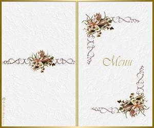 Modele De Menu A Imprimer Gratuit : milou ~ Melissatoandfro.com Idées de Décoration