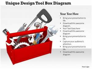 0714 Unique Design Tool Box Diagram Image Graphics For Powerpoint