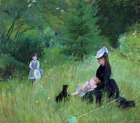 La Berthe Morisot by Berthe Morisot Oudemeesterschilderijen