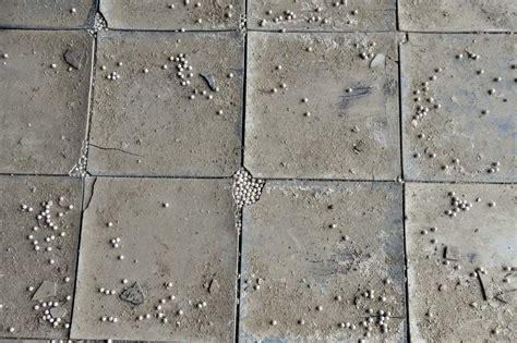 asbestos floor tiles inside the abandoned henryton state hospital