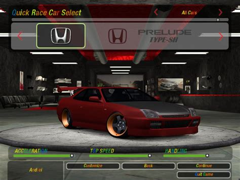 Need For Speed Underground 2 Honda Prelude